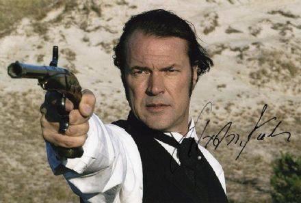 Sebastian Koch, German film star, signed 12x8 inch photo.
